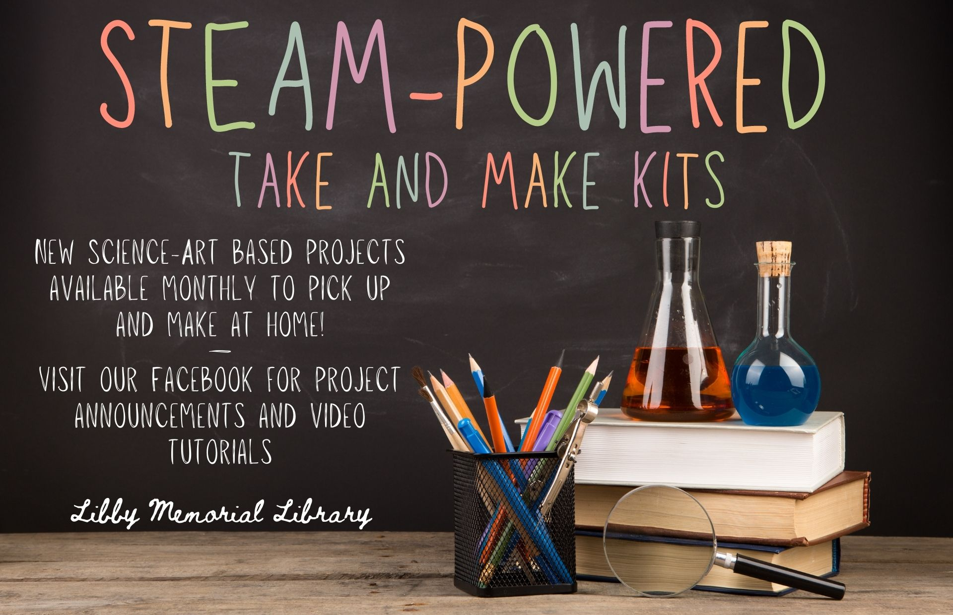 STEAM-Powered Take & Makes